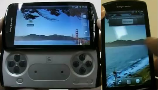 SonyEricsson PlayStation Phone con Google Android