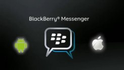 BlackBerry Messenger para Android y Apple iOS