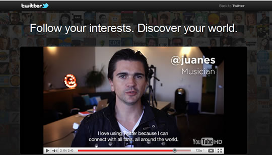 Discover Twitter Juanes
