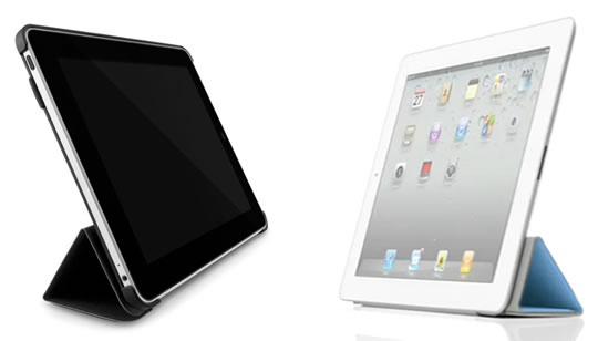 iPad Smart Case y Incase Convertible Magazine Jacket
