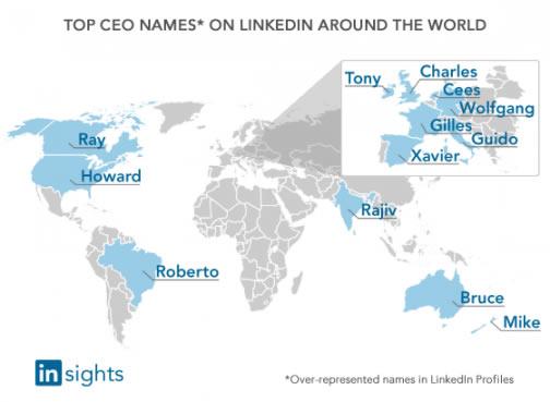 LinkedIn CEO por nombre