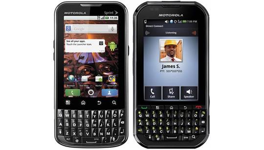 Motorola XPRT y Motorola Titanium