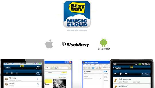 Best Buy Music Cloud