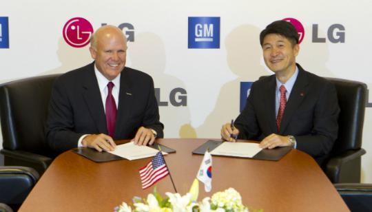 LG y General Motors - Carros Electricos