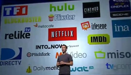 Facebook Netflix - F8