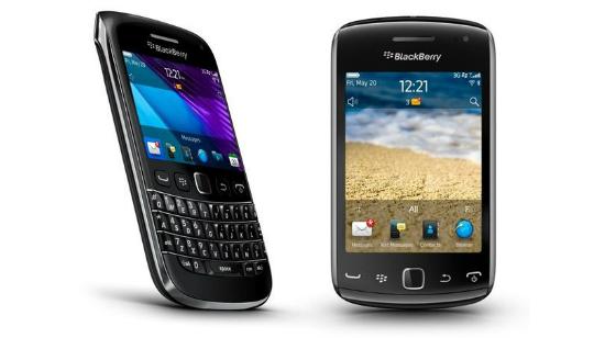 BlackBerry Bold 9790 BlackBerry Curve 9380