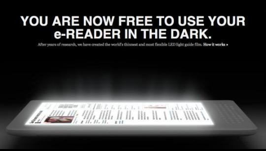 Luz e-readers
