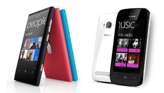 Nokia Lumia 800 Nokia Lumia 710 Colombia
