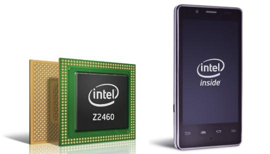 Intel Medfield - Smartphones