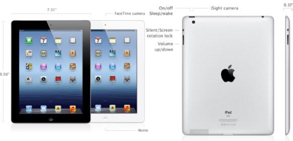Nuevo iPad 2012