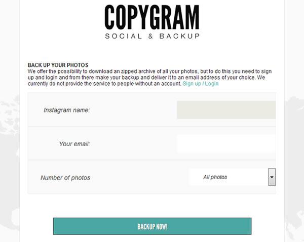 Copygram Instagram
