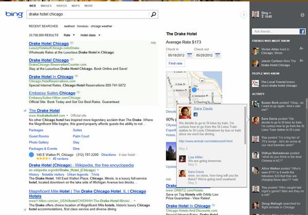 Bing Búsqueda Social