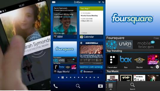 BlackBerry 10 Demostración