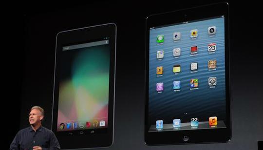 Apple iPad Mini Nexus 7