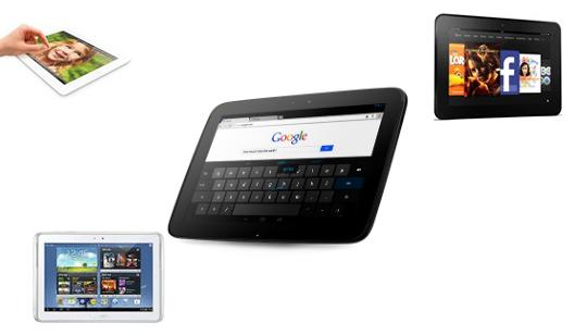 Comparación Nexus 10