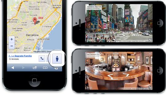 Google Street View Web Mobile