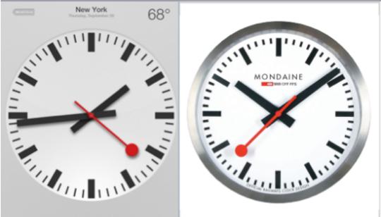 Reloj Apple Suizo