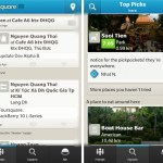 Foursquare BlackBerry 10