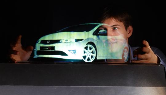 Tecnología Hologramas Táctiles