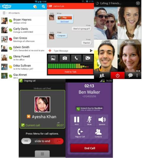 Android Apps Llamadas