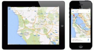 Google Maps 2.0 iPad iPhone