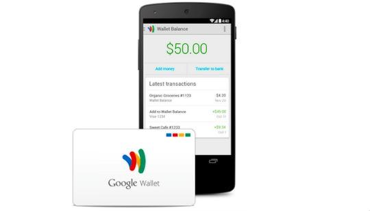 Tarjeta de Google Wallet
