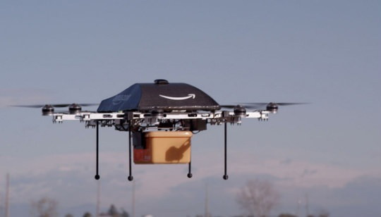 Amazon Prime Air Robots