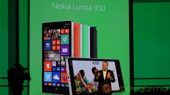 Nokia Lumia 930 Microsoft Build