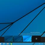 Windows 8 Apps abiertas