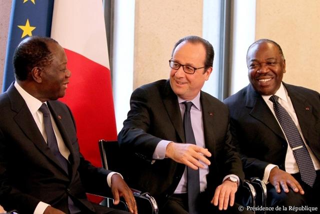 Un moment du Forum franco-africain sur la croissance. © DCP-Gabon/Axel Assouline