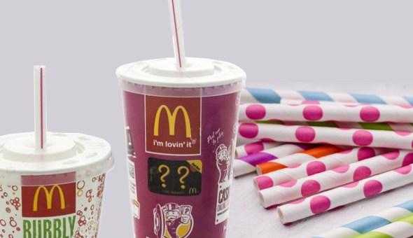 www czołówka słomki McDonalds