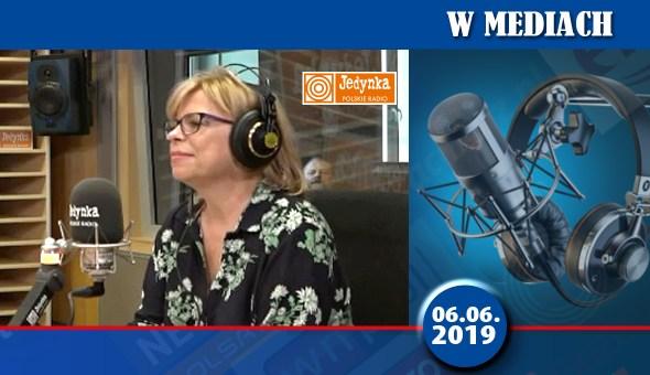 GL w Mediach podkład PR1 debata jedynki 06.06.2019