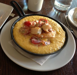 Shrimp and Grits at Mandolin