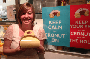 Trying to keep calm with the cronut