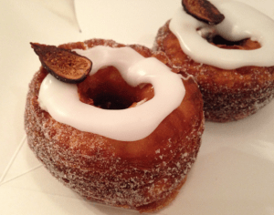 Fig marscapone cronut