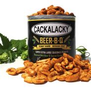 Cackalacky Introduces Beer-B-QT Seasoned Snack Peanuts