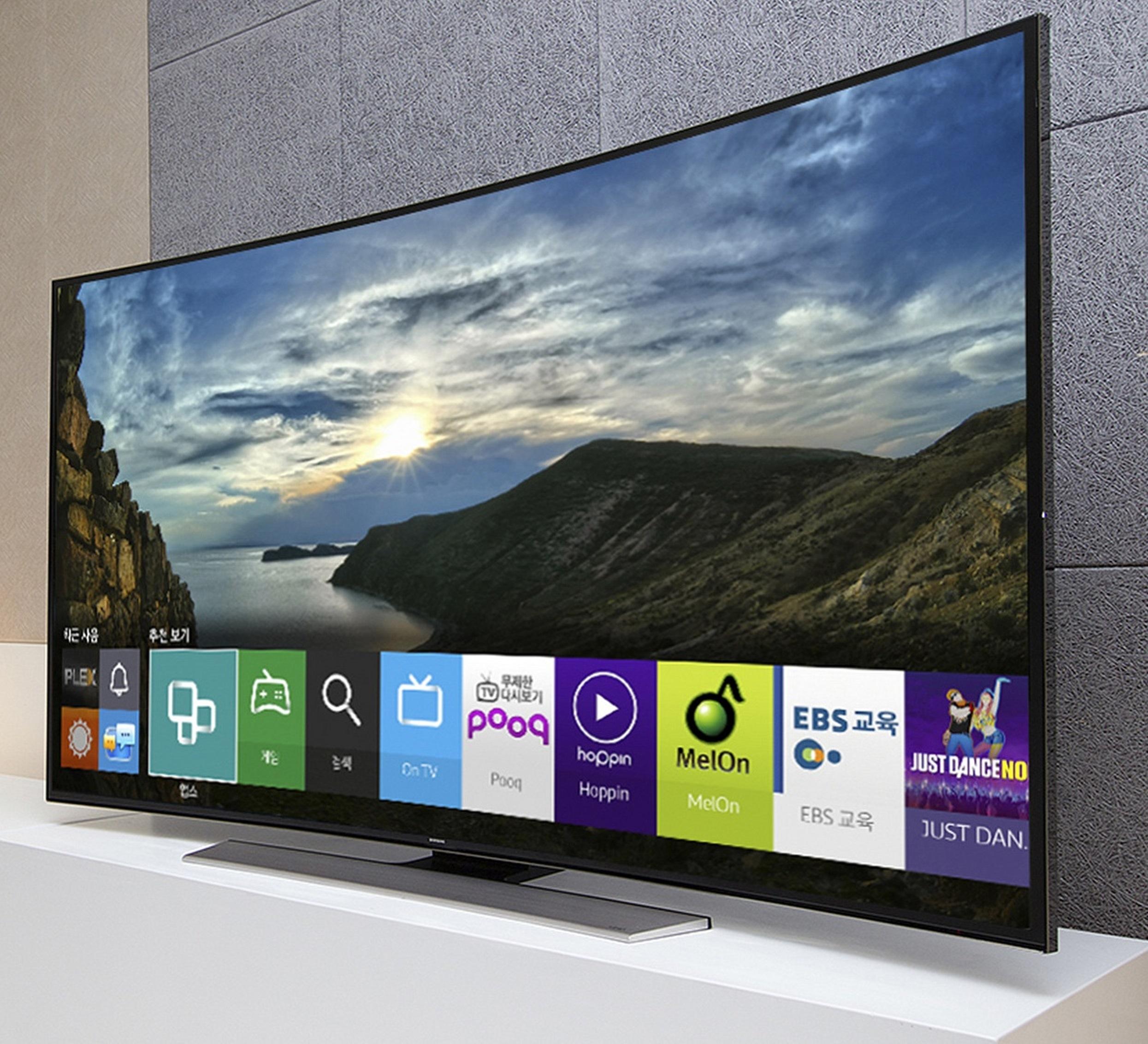samsung redefine la experiencia de ver televisi n con su. Black Bedroom Furniture Sets. Home Design Ideas