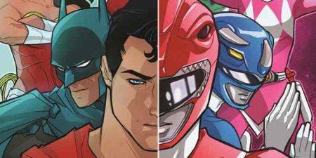 DC Comics y Saban anuncian comic que enfrentará a La Liga de la Justicia con los Power Rangers