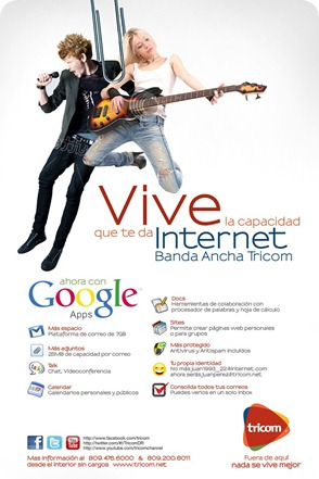 Tricom Google APP