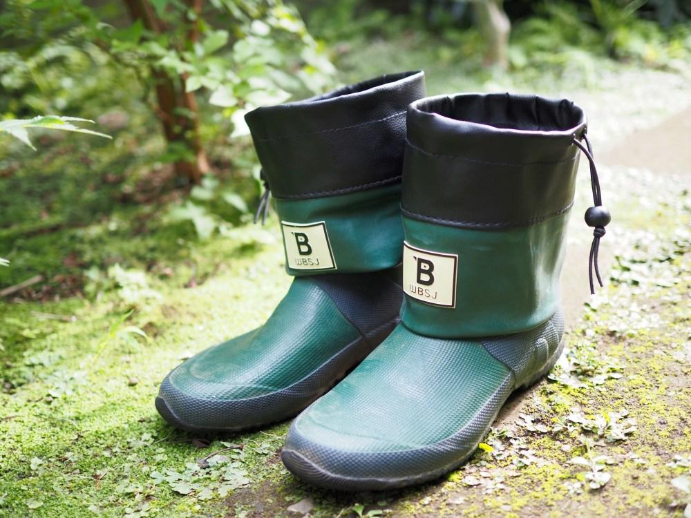野鳥の会長靴ショートブーツ風