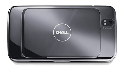 Dell Android Tablet Rear View
