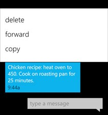 Copy-Paste in Windows Phone 7