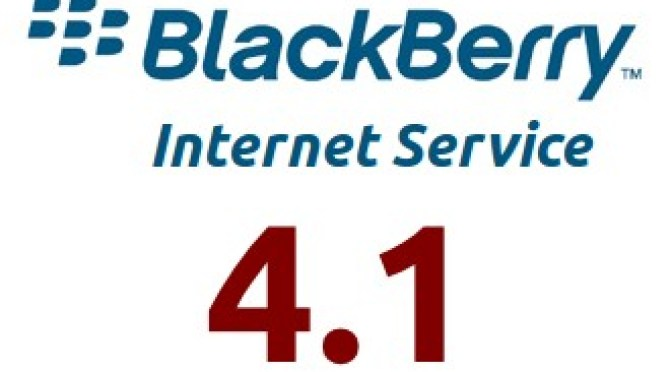 BlackBerry Internet Service (BIS) 4.1 Logo