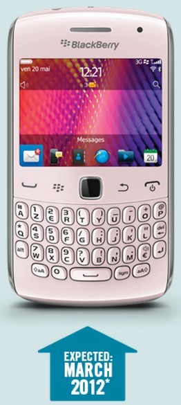 "BlackBerry Curve 9360 ""Pink Edition"" India Price, Specs, Pictures"