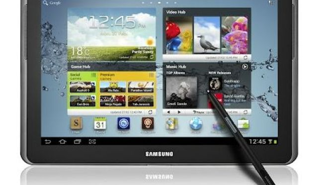 Samsung Galaxy Note 10.1 Pictures