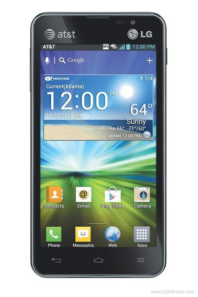 LG Escape Smart Phone - Front View