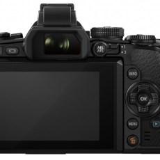 Olympus OM-D E-M1 camera display