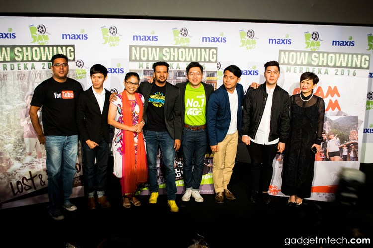 Maxis 4G and YouTube unveil Malaysia's first 360° film series
