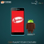 Micromax Canvas 2 colors A120 kitkat