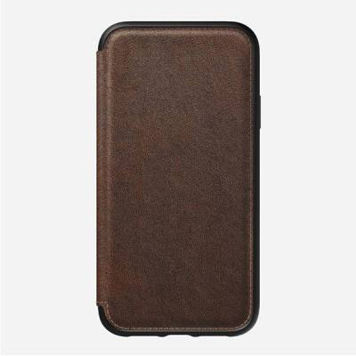 Nomad Rugged Folio iPhone XR Leather Case | Gadgetsin